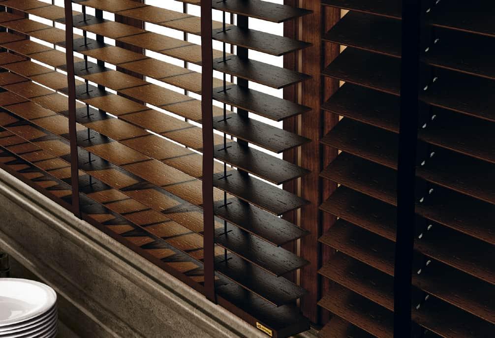Venecianas de madera bravo - Venecianas de madera ...