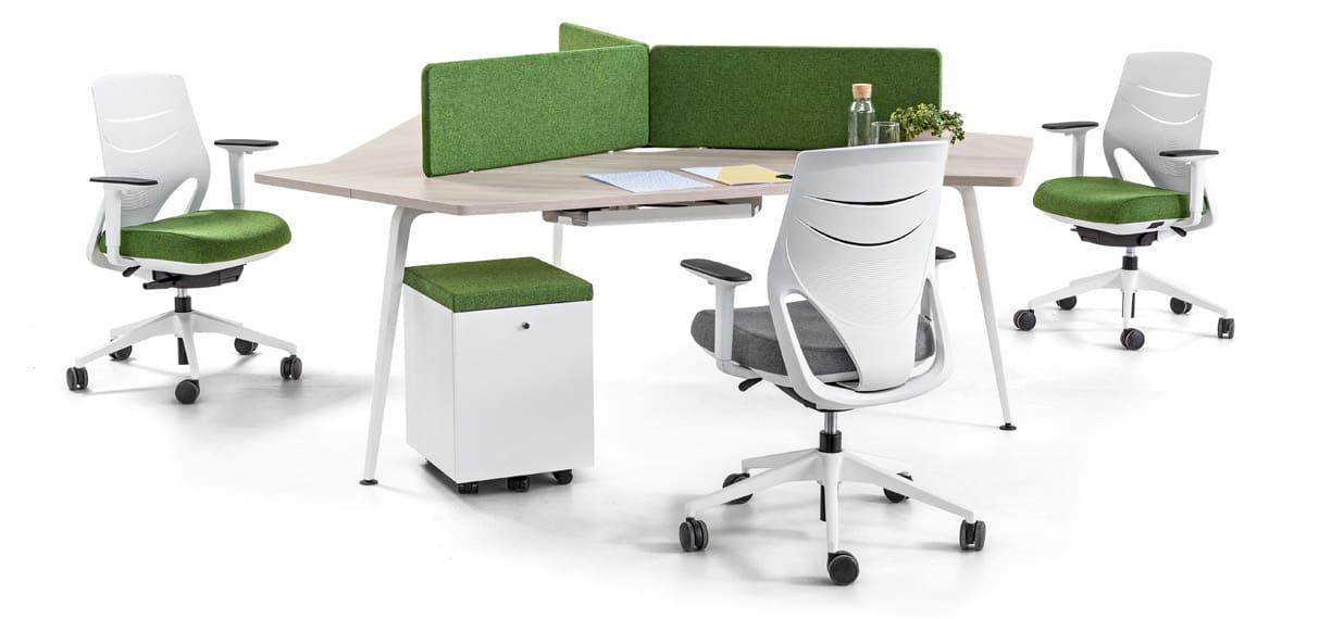 Mesa de oficina Twist de Actiu