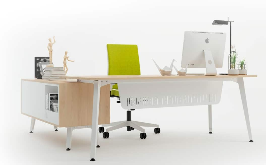 Mesa de oficina Origami de IMAN