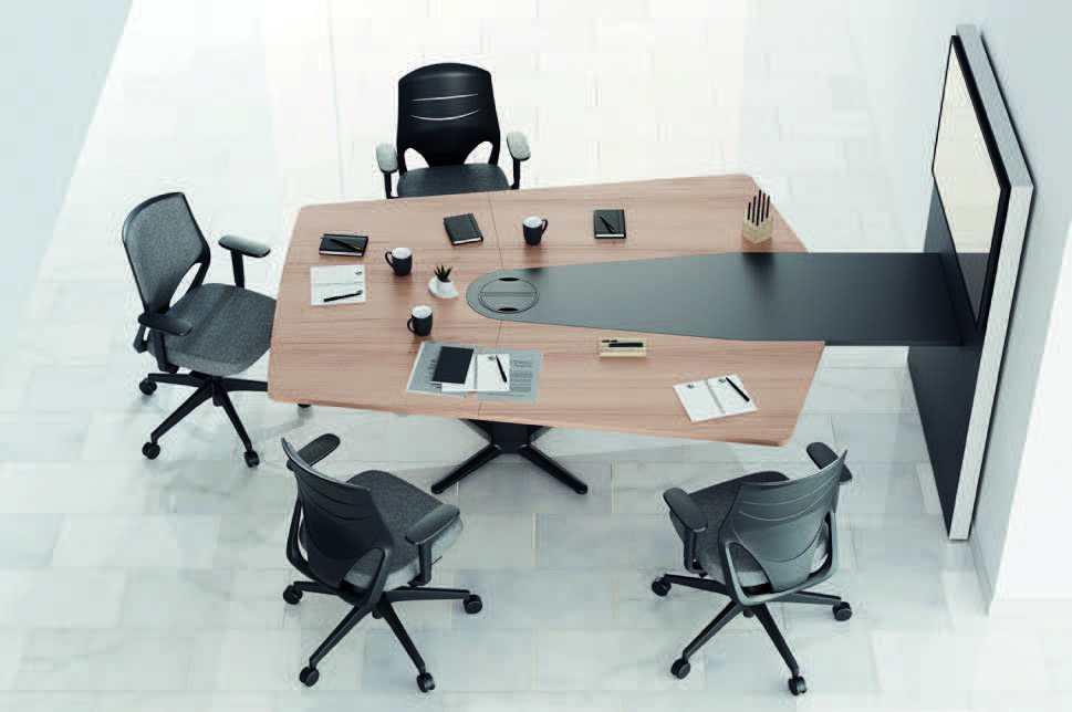Mesa para videoconferencia de Actiu