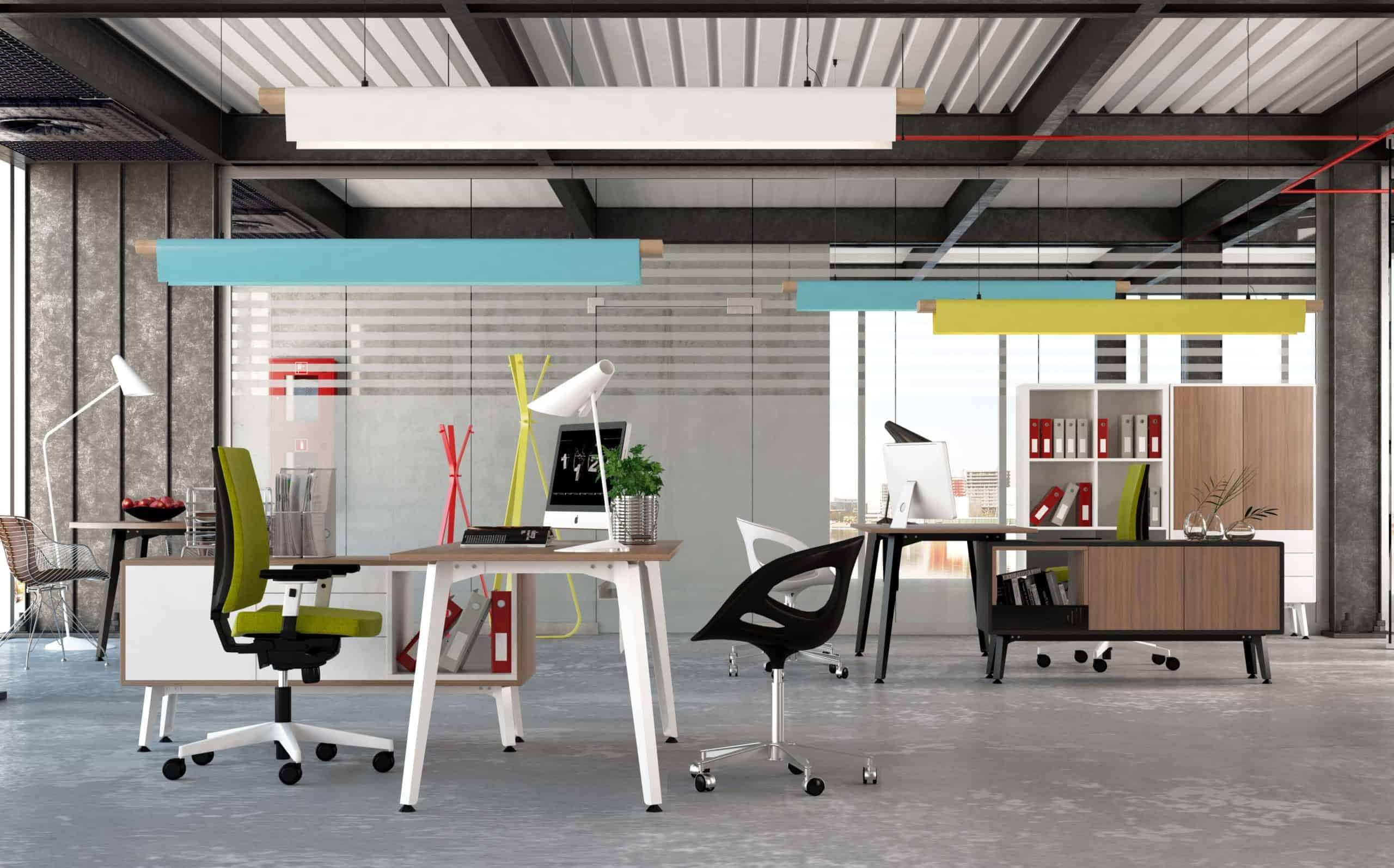 Mobiliario de oficina ORIGAMI de IMAN