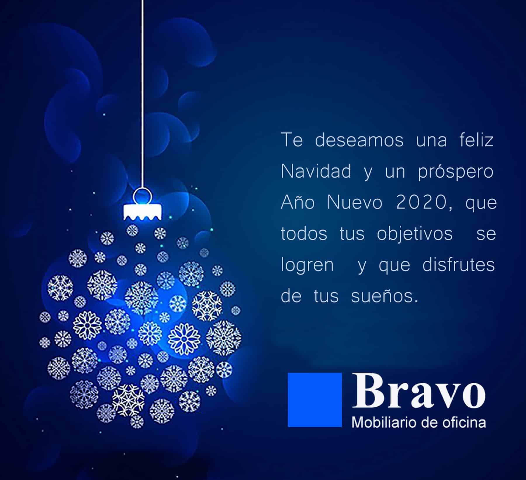 Bravo os desea Feliz Navidad