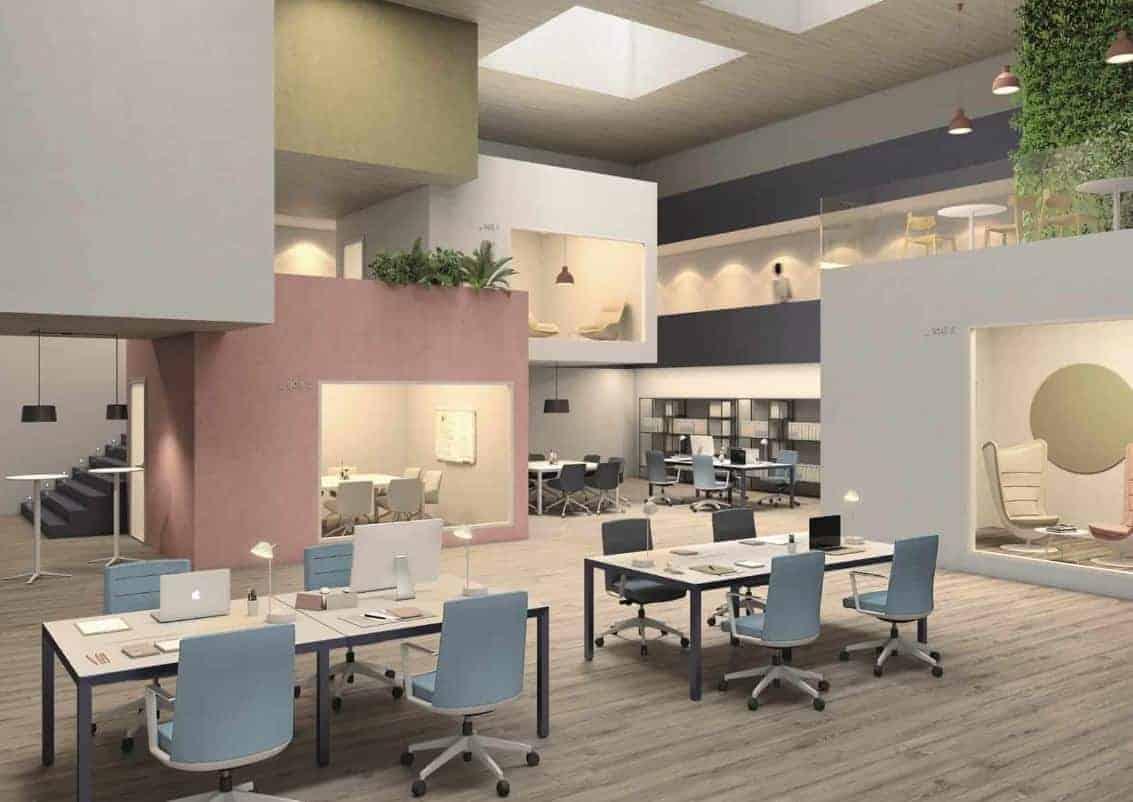 Mobiliario de oficina y colectividades
