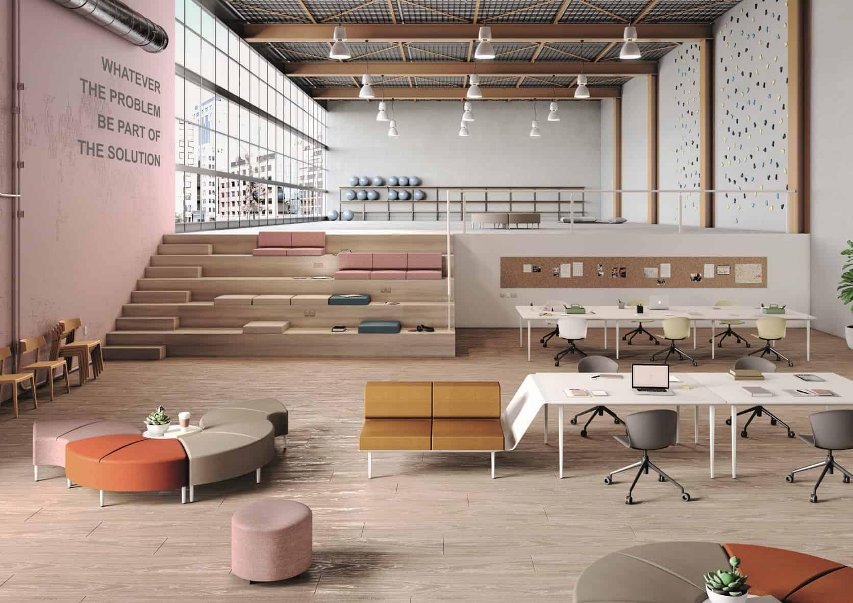 LONGO Mobiliario de oficina y colectividades